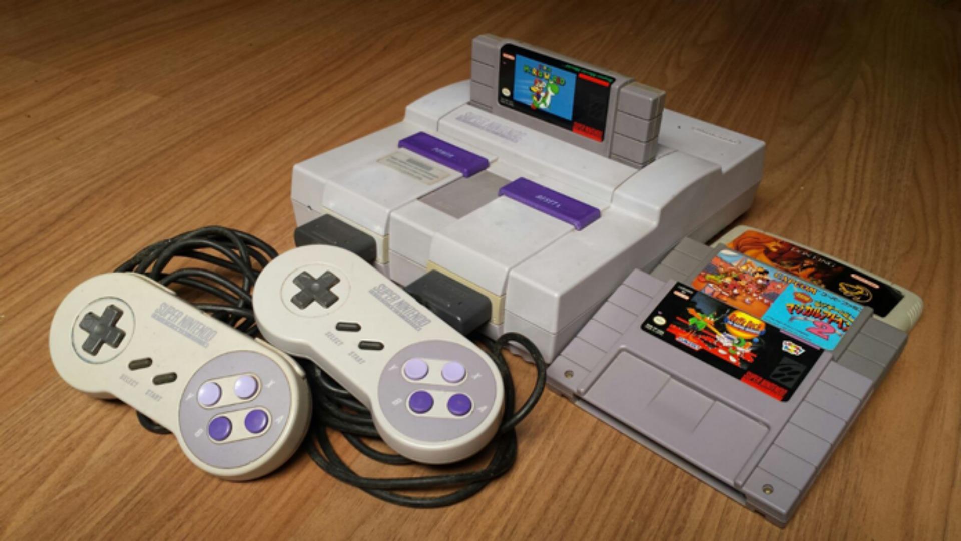 Compra de Super Nintendo