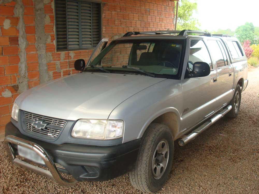 Chevrolet S10 Ano 99 GNV e Gasolina