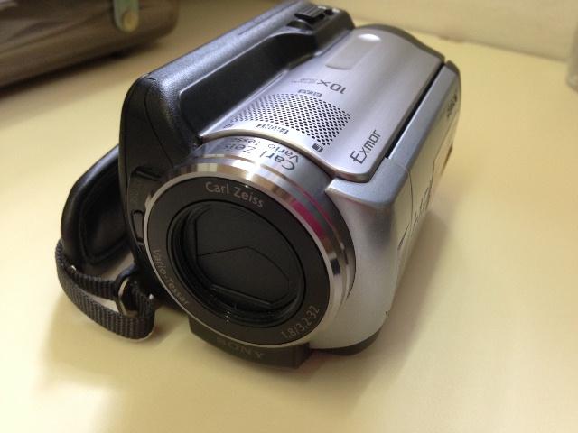 Vendo filmadora Sony HDR-XR100 80 GB HDD High Definition