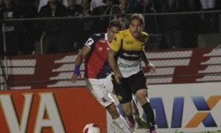 Atacante Silvinho entrou no segundo tempo. Foto: Fernando Ribeiro