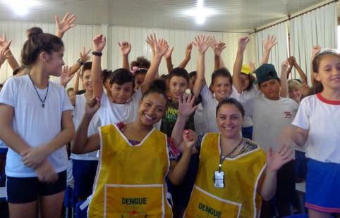 Programa EducaDengue. Foto: Divulgação