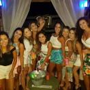 A advogada Ana Claudia Mota celebrou a passagem de seus 27 anos de idade neste fim de semana na companhia dos familiares e amigos. Na foto, durante a comemoração no Mandala Beach, no Morro dos Conventos, com as amigas Camile, Ramila, Priscila, Carol, Aline, Monica, Rafaela e a irmã Ana Clara.