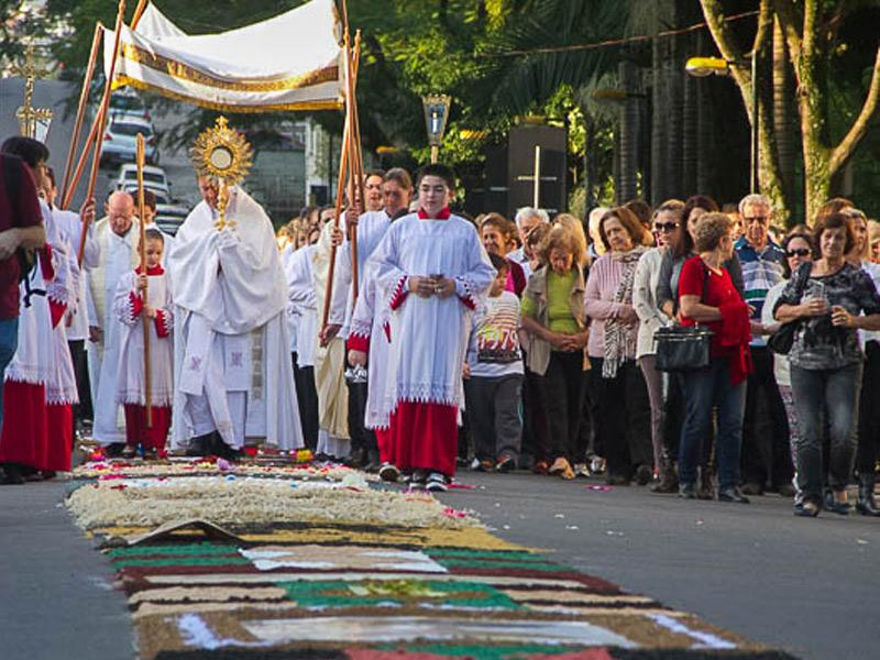 Festa Do Corpo E Sangue De Cristo Vai Colorir Ruas Na Quinta